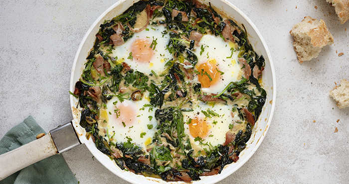 Green eggs and ham Easy Food