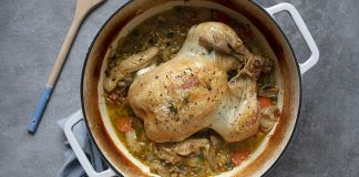 French pot chicken