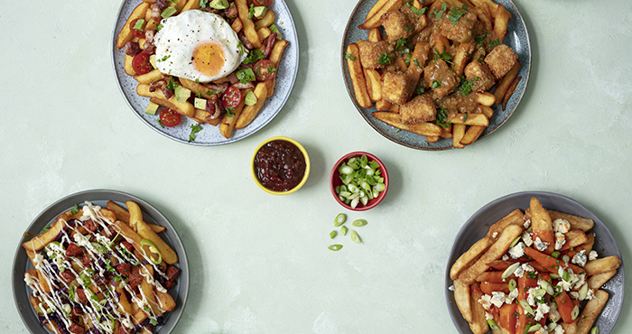 Loaded chips Easy Food
