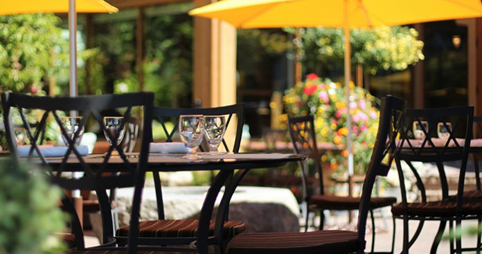 Outdoor dining map Katia Valadeau ProperFood.ie Easy Food Ireland covid 19
