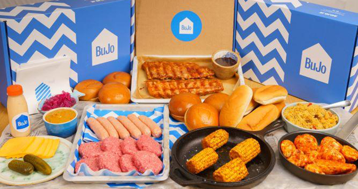 Bujo BBQ box Father's Day Easy Food
