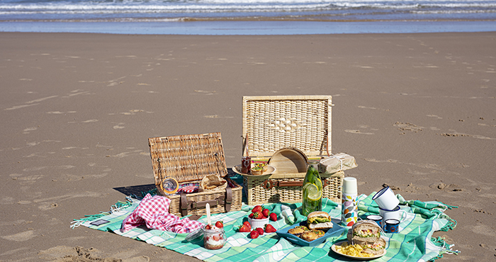 Beach picnic Easy Food Summer Special June July 2021 issue 157