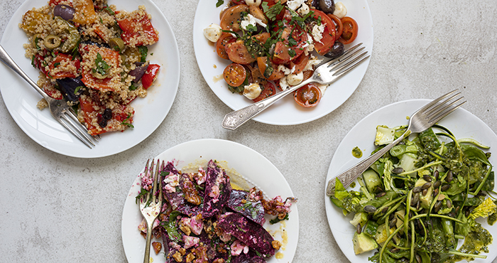 Summer salads Easy Food Summer Special June July 2021 issue 157