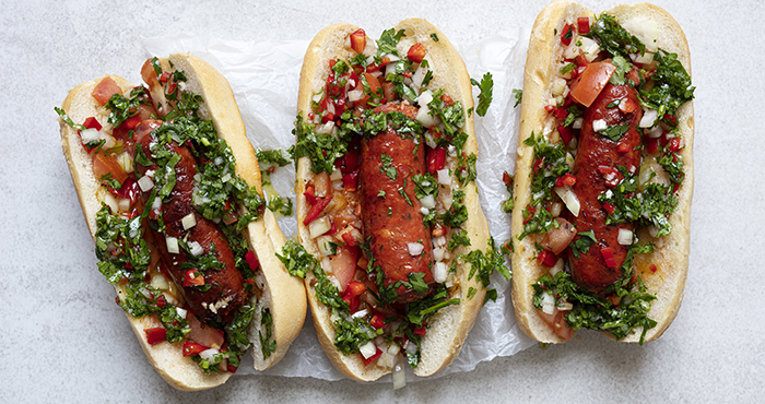 Choripán chorizo dogs Easy Food Summer Special June July 2021 issue 157