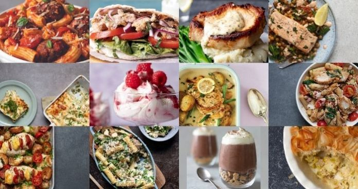 30 days of 30 meals