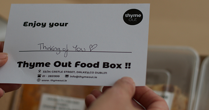 Thyme Out Food Box Easy Food