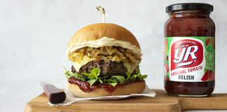 YR Sauce BBQ Burgers barbecue Easy Food