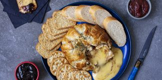 YR Sauces Relish Camembert in puff pastry Easy Food