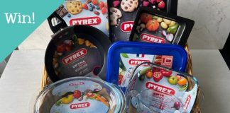 Win a hamper of PYREX® cookware products worth €150!