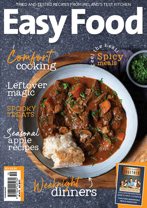 EF160 Easy Food issue 160 October 2021 front cover new
