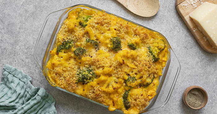 Pyrex Butternut squash Mac and cheese Easy Food