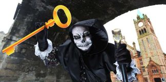 Visit Derry Halloween festival Awakening the Walled City Easy Food